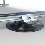 Socle d'attache pour système ancrés, Opsun Sunrail SR3 système de montage pour panneaux solaires bifaciaux
